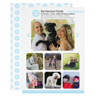 Christmas Family Photo Collage | Social Media Look Card