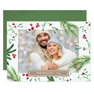 Christmas Family Photo Greeting Card
