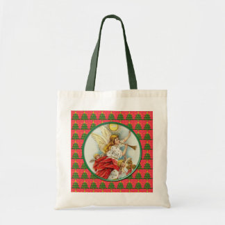 Christmas family photo shopping bag. canvas bags