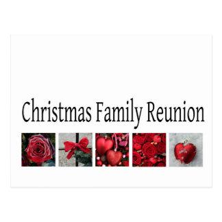 Christmas Family Reunion Postcard