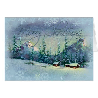 CHRISTMAS FARM by SHARON SHARPE Card