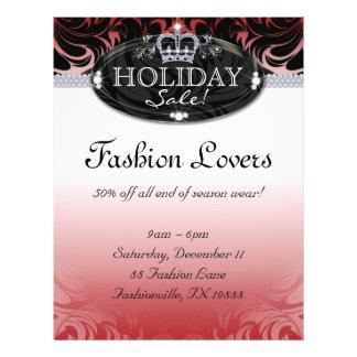 Christmas Fashion Flyer Hair Salon Jewelry Crown