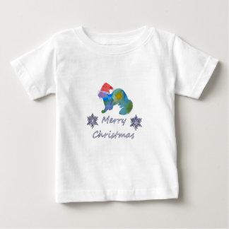 Christmas Ferret Baby T-Shirt