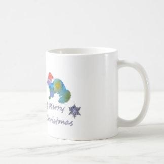 Christmas Ferret Coffee Mug