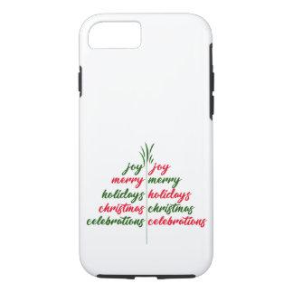 Christmas-Festive-Tree iPhone 8/7 Case