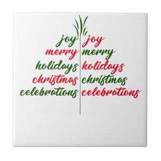 Christmas-Festive-Tree Tile