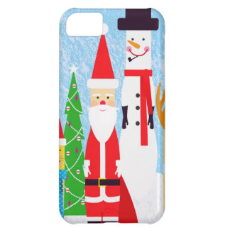 Christmas Figures iPhone 5C Case
