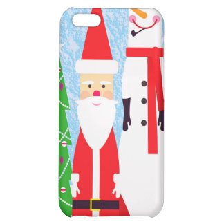 Christmas Figures Case For iPhone 5C