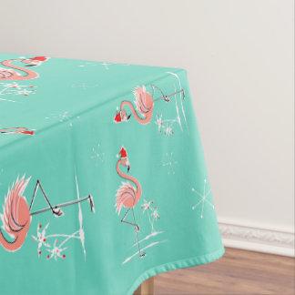 Christmas Flamingo Multi large pattern Tablecloth