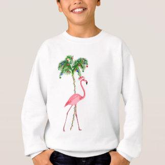 Christmas Flamingo Sweatshirt