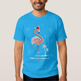 Christmas Flamingo t-shirt men's