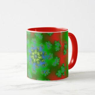 Christmas Floral Sprinkles Mug
