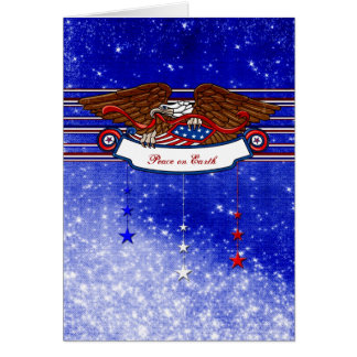 Christmas for a Soldier - Peace on Earth Greeting Card