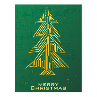 Christmas for Geeks Postcard