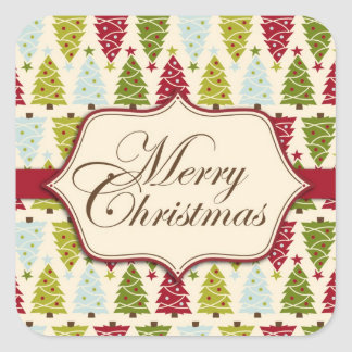 Christmas Forest Sticker 2