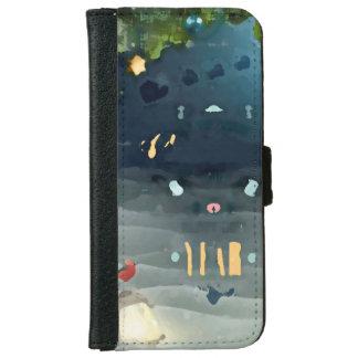 Christmas founds portfolio iPhone 6 wallet case