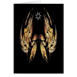 Christmas fractal card