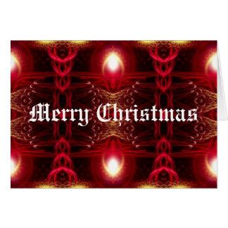 Christmas Fractals Card