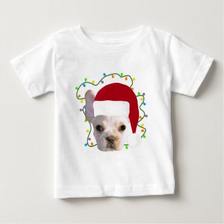 Christmas French Bulldog Baby T-Shirt