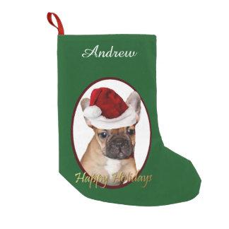 Christmas French Bulldog dog personalized stocking
