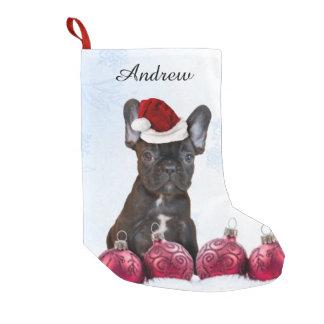 Christmas French Bulldog Small Christmas Stocking
