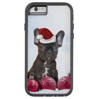 Christmas French Bulldog Tough Xtreme iPhone 6 Case