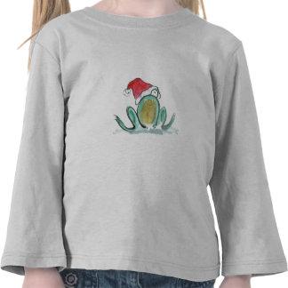 Christmas Frog, Sumi-e T Shirt