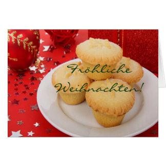 Christmas Fröhliche Weihnachten I Greeting Card