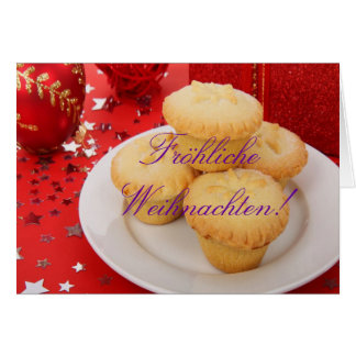 Christmas Fröhliche Weihnachten III Card