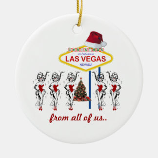 Christmas from all of us... Showgirls Ornament