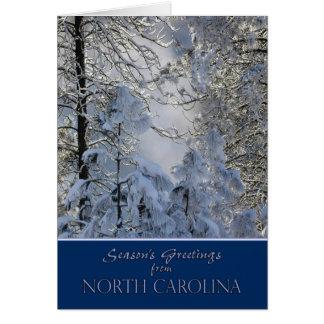 Christmas from North Carolina Card