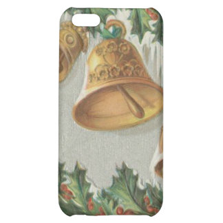 Christmas Frozen Bells and Holly iPhone 5C Cases
