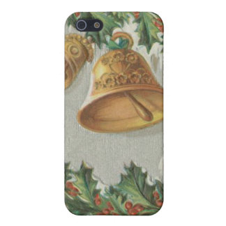 Christmas Frozen Bells and Holly iPhone 5 Cover