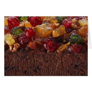 Christmas Fruit Cake Card