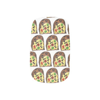 Christmas Fruit Cake Fruitcake Slice Holiday Xmas Minx Nail Art