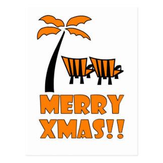 Christmas Funny / Merry Xmas Postcard