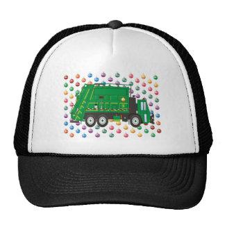 Christmas Garbage Truck December Hat