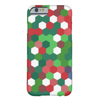 Christmas Geometrix Design Barely There iPhone 6 Case