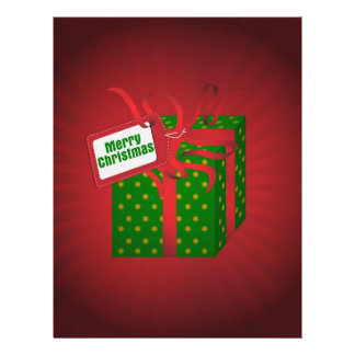 Christmas Gift Flyers