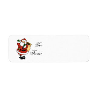 Christmas Gift Label Return Address Label