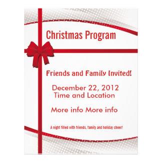 Christmas Gift Program Flyer