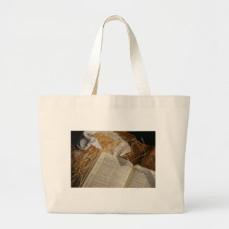Christmas gift spread the Gospel Large Tote Bag