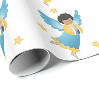Christmas Gift Wrap/Angels