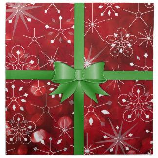 Christmas Gift Wrap Napkin