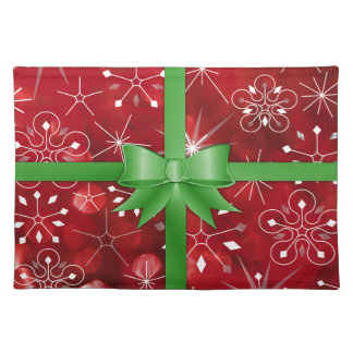 Christmas Gift Wrap Placemat