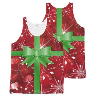 Christmas Gift Wrap Tank Top