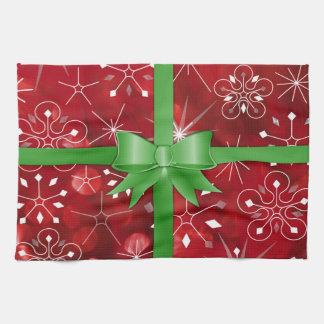 Christmas Gift Wrap Towel