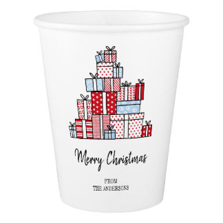 Christmas Gifts Holiday Paper Cup