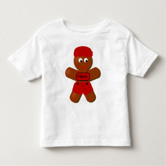 Christmas Gingerbread Boy Toddler T-shirt
