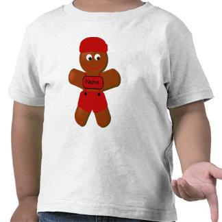 Christmas Gingerbread Boy Toddler T-shirt